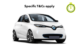 RENAULT ZOE HOURLY HIRE ELECTRIC AUTO